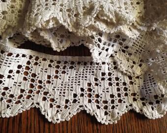 4 yds Crochet Edging