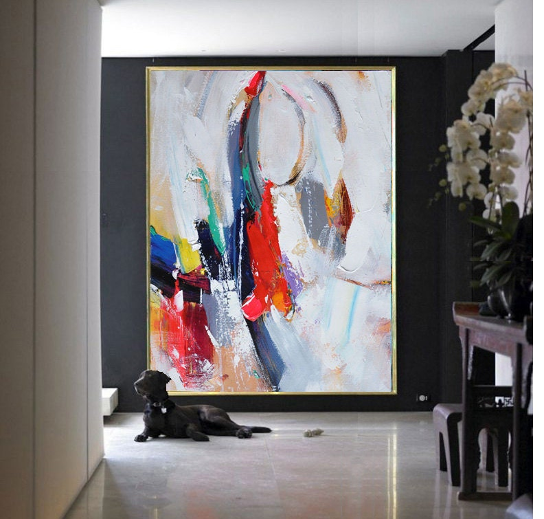 Handmade Extra Large Contemporary Painting Huge By