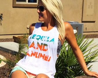Tequila  And Tan lines Tank