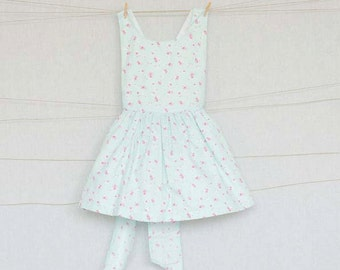 Apron dress/Girls dress/Rustic dress/Vintage for kids/Size 2T,3T