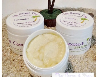 Unscented Body Cream / Coconut Oil / Olive Oil / Shea Butter / Cocoa Butter / Aloe Vera / Vitamin E