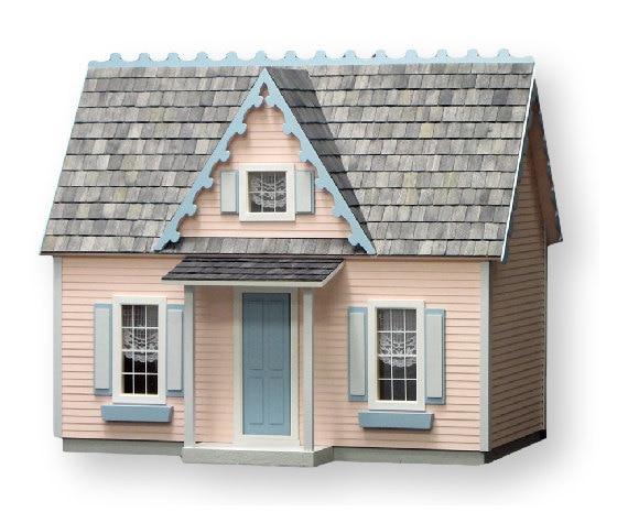 Victorian Cottage Jr Unfinished Dollhouse Kit