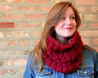 Chunky Neck Scarf - 12 Colors Available