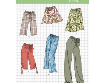 Simplicity Sewing Pattern 2414 Misses Skirt & Pants