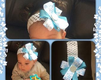 Baby/ toddler handmade headband