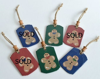 Primitive Christmas Ornaments, Wooden Christmas Ornaments, Christmas Ornaments, Rustic Ornaments, Holiday Decor, Christmas Decor, Wooden Tag