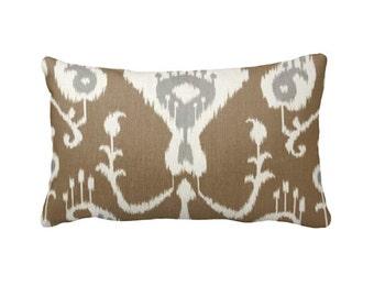 7 Sizes Available: Tan Throw Pillow Cover Ikat Pillow Cover Tan Pillow Covers Southwestern Pillow Tan Cushion Cover Tan Sofa Pillows