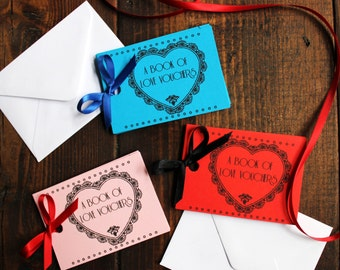 Personalised Cute Valentine's Gift Love Vouchers Coupons For Boyfriend Girlfriend