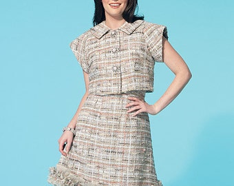 OUTof PRINT McCall's Pattern M7280 Misses' Jacket and Dress
