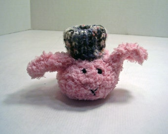 PINKY THE BUNNY Baby Booties