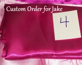 Custom order for slallman Pink Locking Restraints with Leather Straps and Extra Padding