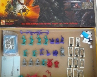 Dragon Strike board game 90% complete