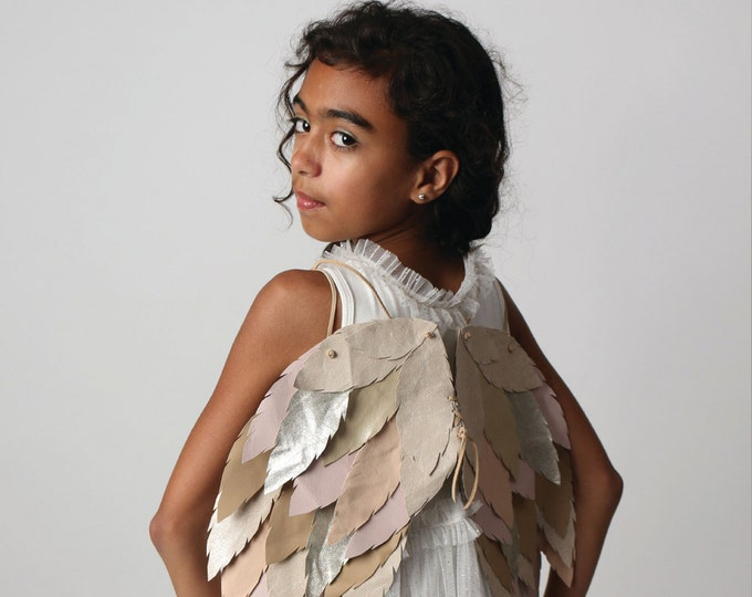 Leather wings