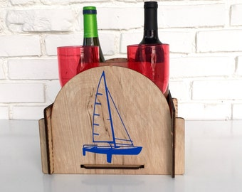 The Perfect Wine Caddy for Sailing Away