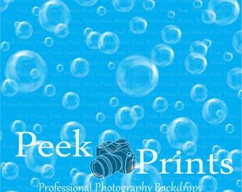 6ft.x6ft Bubbles! Vinyl Photography Backdrop - Bubble Background