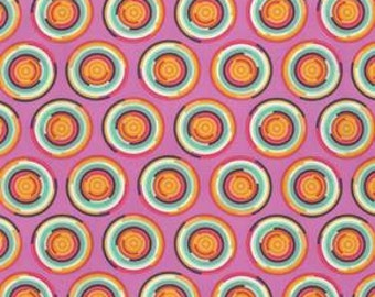 Tula Pink Chipper Hypnotizer Sorbet Cotton Woven