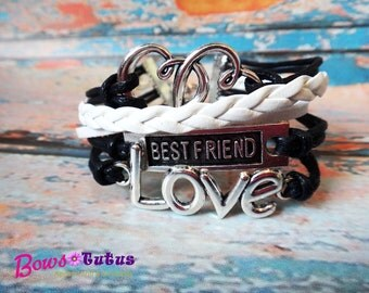 Bestfriend Love Handmade Multilayer Braided Infinity Bracelet