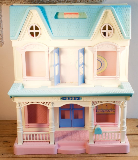 Vintage Fisher Price House --- This one my daughter didn't want to stop playing with!