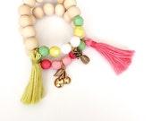 Summer fruit stack 2 bracelets