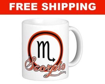 Scorpio Mug - 11 oz
