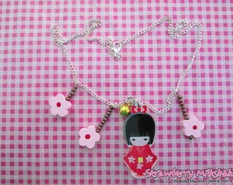 Necklace *Japanese Spring*
