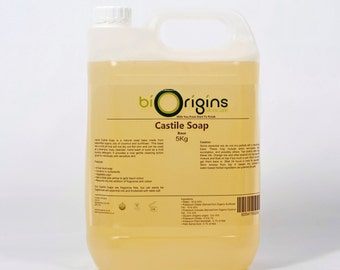 Pure Liquid Castile Soap - 5Kg