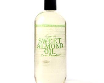 Almond Sweet Organic Carrier Oil - 500ml