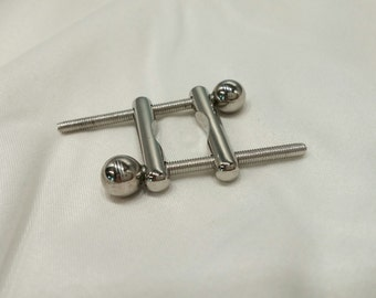 MATURE CONTENT Solid Stainless Steel Nipple Clamp(s), BDSM Toy, Adult Toy