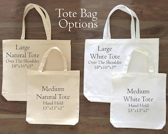 Upgrade to large tote!