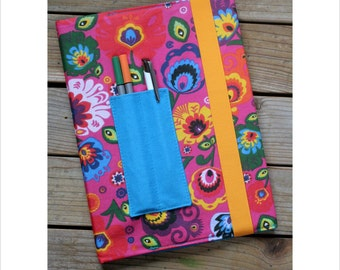 Composition notebook cover - Folk