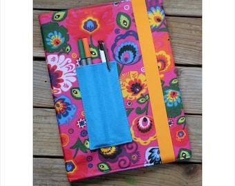 MTO Composition notebook cover - Folk