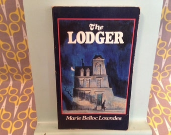 The Lodger by Marie Belloc Lowndes Paperback Book horror jack the ripper