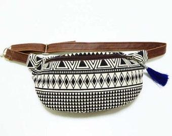 Fanny Pack Hip bag/belt bag/bum bag/festival fanny pack/Bags/faux leather Strap