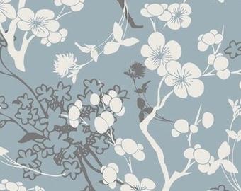 Art Gallery Fabrics - Pat Bravo, Chalky Silhouette, last half yard