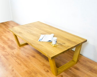 "VOAK - wooden oak table 160x90cm (63x35.43"")"