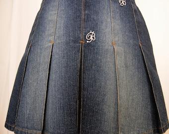 BLUMARINE jeans skirt