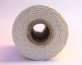 ON SALE-12 Ply Natural Bakers Twine 100 yard spool 12 Ply Thick Cotton String- Birthday Baby Shower Wedding