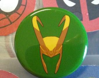 Marvel - Loki - Button