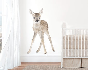 Large Baby Deer Interior Wall Decal