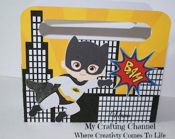 LG Batman Birthday Treat Box Sets-Treat Box Sets-Super Hero Treat Boxes-Batman Favor Boxes-Classroom Party Boxes-Gift Boxes-Super Hero