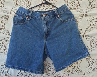 Relaxed high-waisted 550 Denim LEVI'S Shorts Size 4