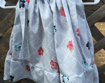 Pretty ruffle dress for 3-6 month