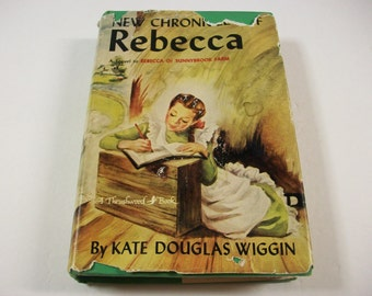 New Chronicles of Rebecca Book, A Sequel to Rebecca of Sunnybrook Farm, Young Adult Literature