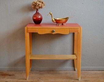 desserte vintage etsy. Black Bedroom Furniture Sets. Home Design Ideas