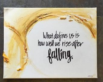 Custom positive, inspirational quote