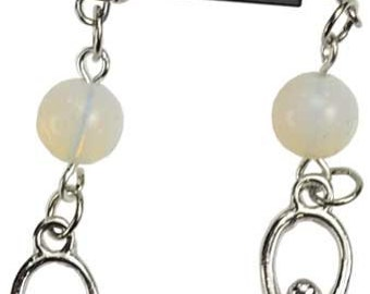 Opalite goddess earrings