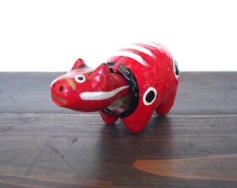 Japanese AKABEKO toy traditional folk art