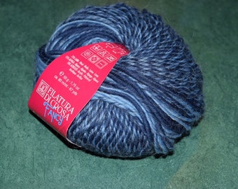 Aliseo Yarn by Filatura Di Crosa Color #4 Blues