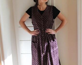 CORDUROY mom dress vintage