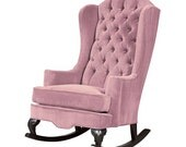 Fitzgerald Rocker .....Velvet Tufted Rocking Chair - available in 10 different colors!